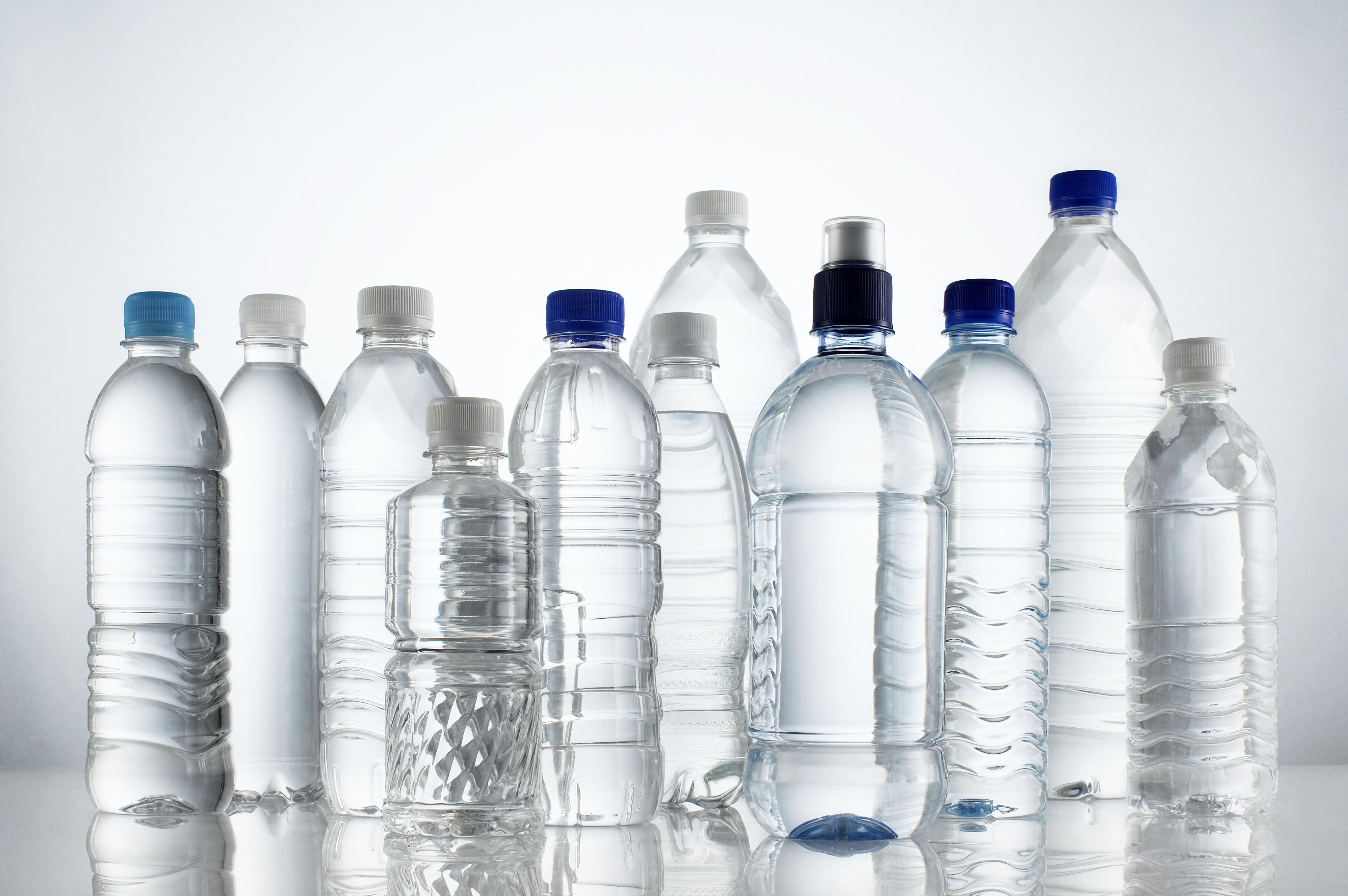no uses botellas de plástico