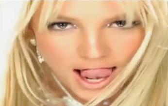 Lengua de Britney Spears