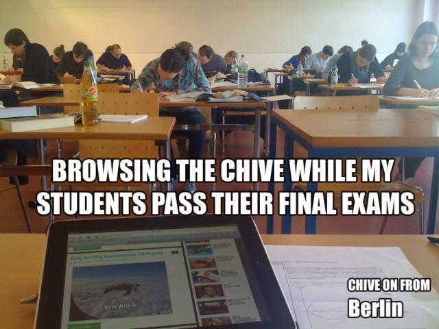 Buen ambiente en clase