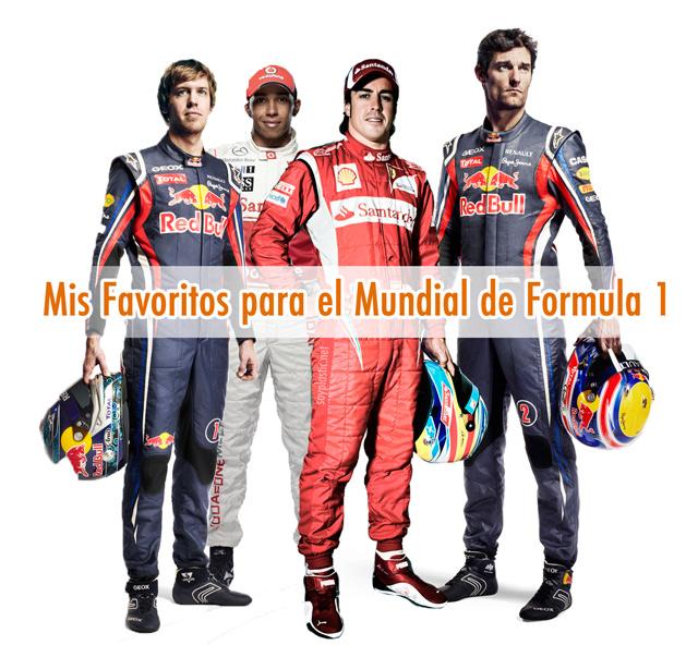 favoritos F1 2011