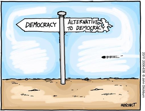 Cómo vivir en democracia y no perder tu poder