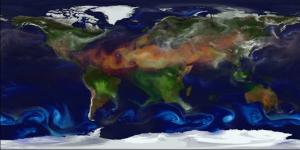 GEOS-5 retrato dinámico de la Tierra